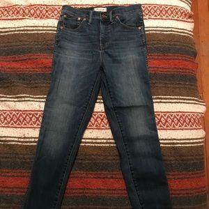 High waisted perfect Madewell jean